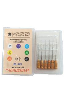 K-reamers (К-римеры ручные каналорасширители -