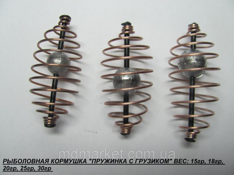 """Кормушка """"Пружина с грузиком"""" 15 г."""