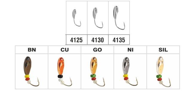 4130 Лодочка с отверстием Cu (медь)