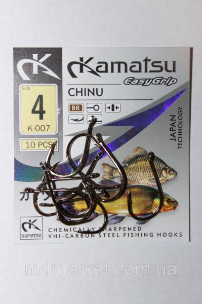 Крючок Kamatsu Chinu BR №4 (оригинал)