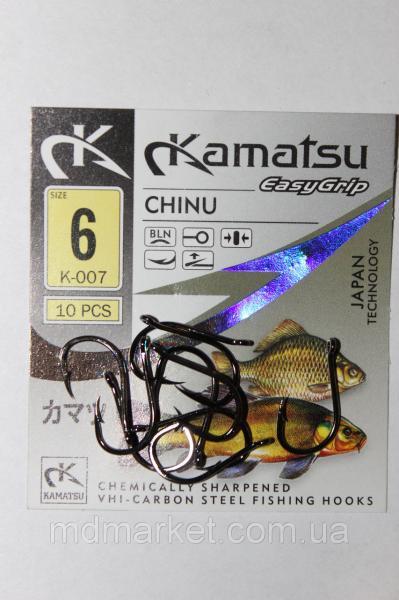 Крючок Kamatsu Chinu BLN №6 (оригинал)
