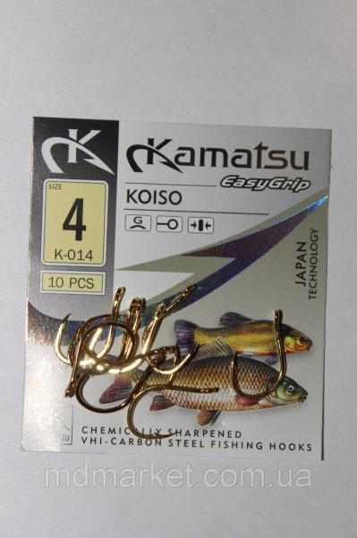 Крючок Kamatsu Koiso G №4 (оригинал)