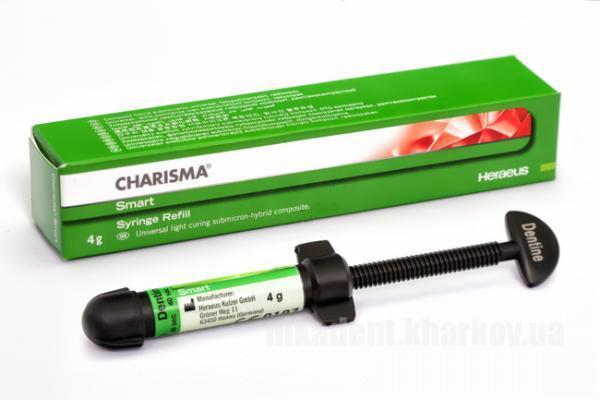 Фото Для стоматологических клиник, Материалы, Фотополимеры Charisma Smart Dentin (Харизма шприц) 4г