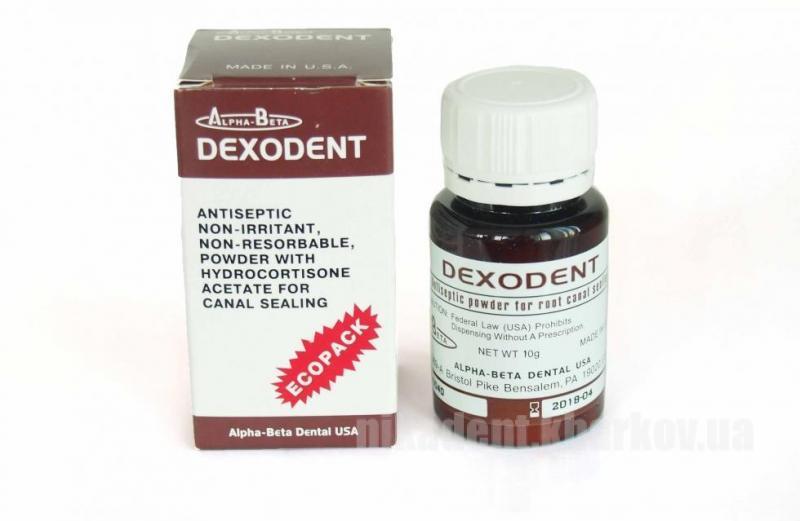 Фото Для стоматологических клиник, Материалы, Эндоматериалы Dexodent (Дексодент 20g)