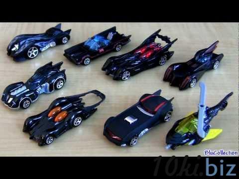 Набор 10 машинок Хот Вил Бэтмен (Batman Hot Wheel) - Тематические игровые наборы в Санкт-Петербурге