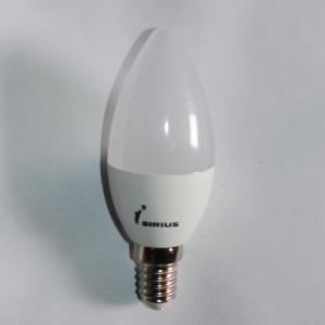Фото LED лампы С37 LED 6W Е14 4000К