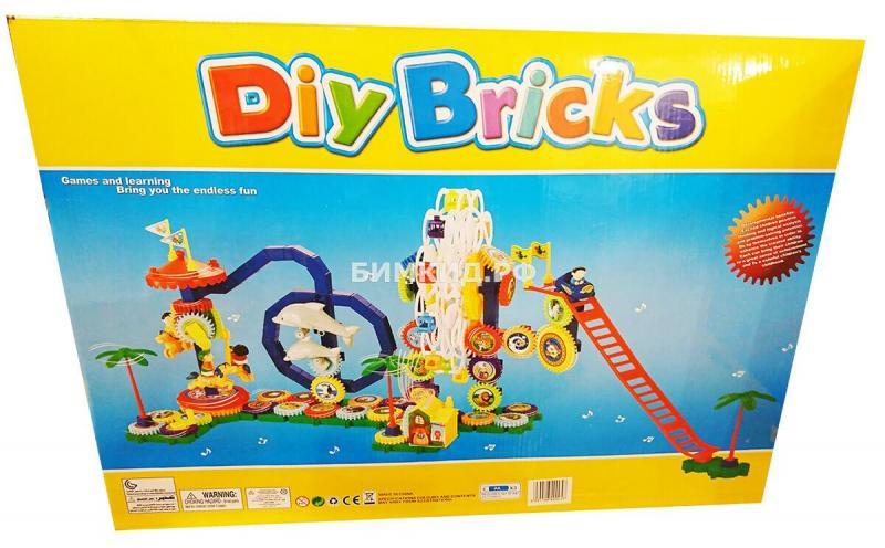 Конструктор 162 дет. Мега-парк Diy Bricks