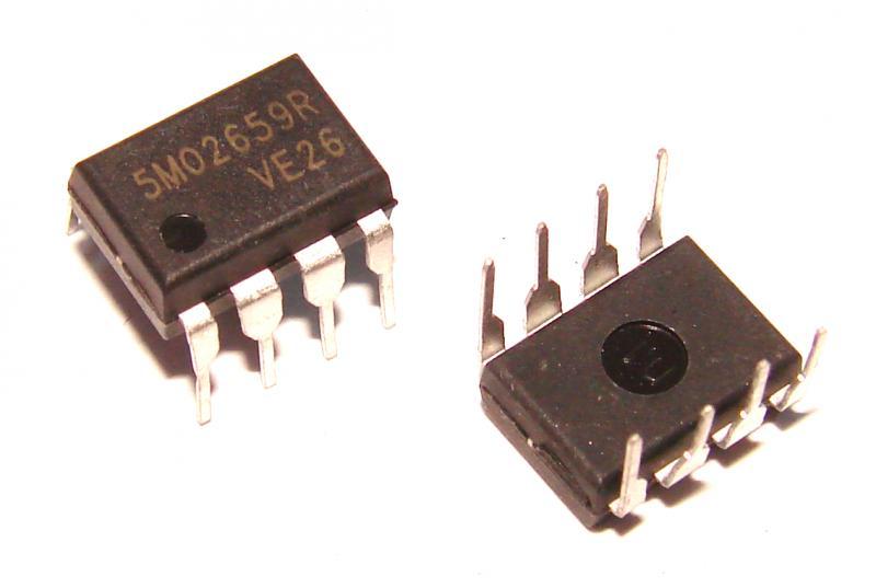 Микросхема 5M02659R ШИМ блока питания спутниковых тюнеров 5M02659