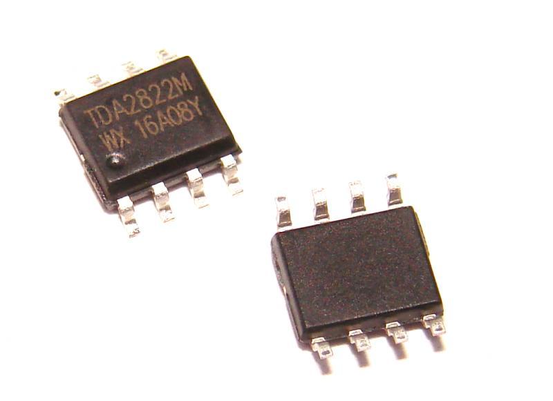 Микросхема усилитель  TDA2822M SMD