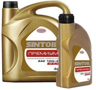 Sintec / Sintoil Премиум 10w40 1л