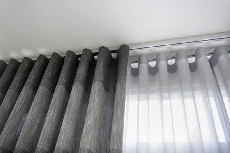 Фото Карнизы Потолочные, Карнизы потолочные и Фурнитура «ОМ 2»  Карниз потолочный двухрядный    (Арт. V00125)