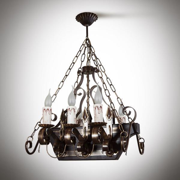 Амира Люстра 6 ламп