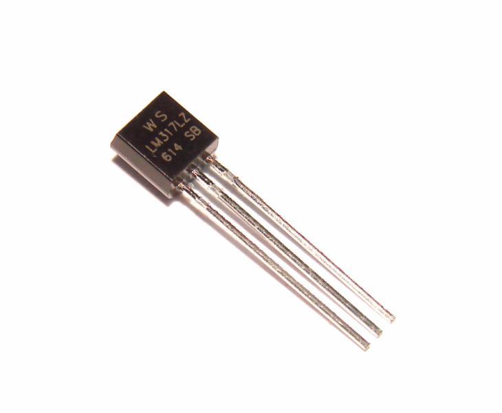 Микросхема стабилизатор напряжения LM317L