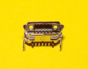 Фото Штекер , гнездо , Micro USB , USB , Mini USB  Гнездо micro USB 5pin (№12)