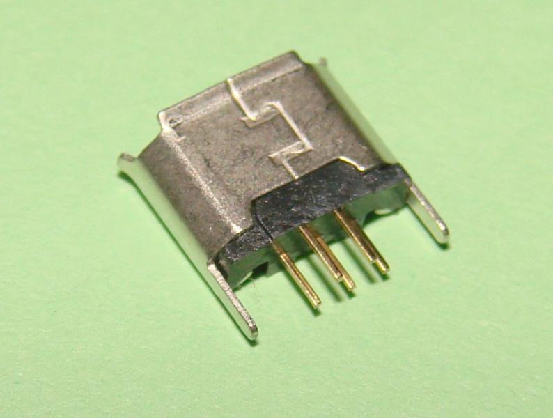 Гнездо micro USB 5pin (№14)