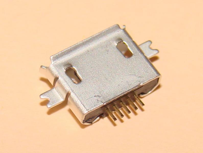 Гнездо micro USB 5pin (№17)