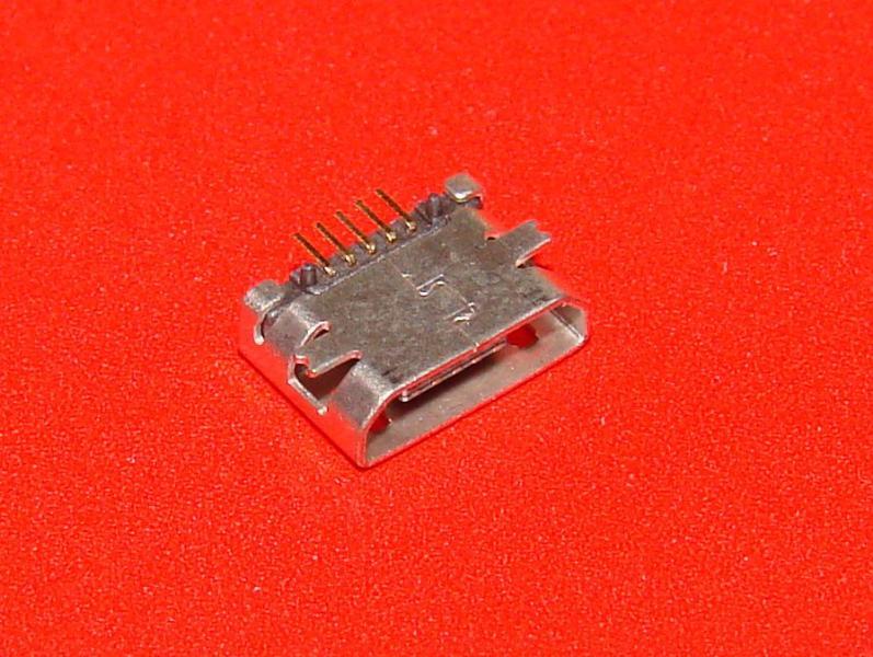 Гнездо micro USB 5pin (№25)