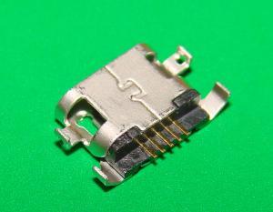 Фото Штекер , гнездо , Micro USB , USB , Mini USB  Гнездо micro USB 5pin (№27)