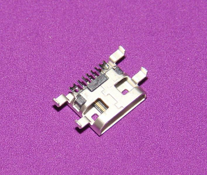Гнездо micro USB 5pin (№28)