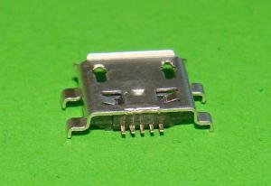Фото Штекер , гнездо , Micro USB , USB , Mini USB  Гнездо micro USB 5pin (№9)