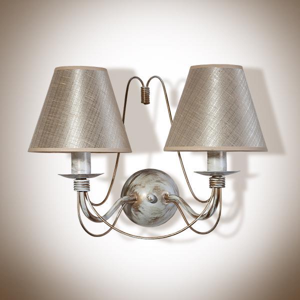 Изабелла Бра настенный с абажуром 2 лампы