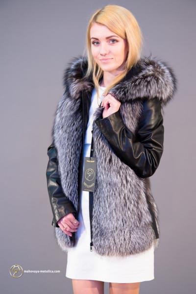 Куртка из чернобурки «Магда»