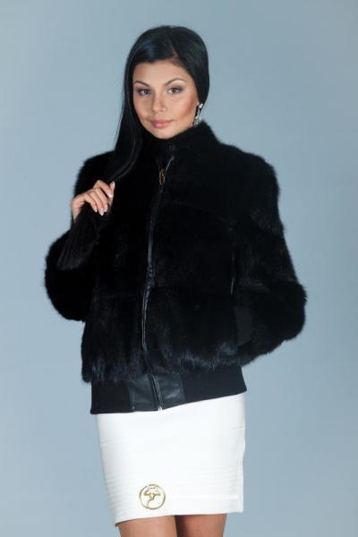 Куртка из меха лесной норки «Олимпия»