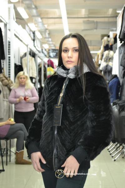 Куртка из меха норки «Амбра»