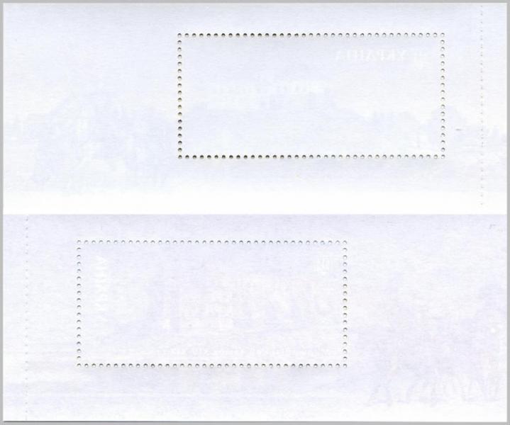 Фото Почтовые марки Украины, Эксклюзивные почтовые марки  Украины 2017 № 1566-1567 Буклет почтовых марок памятники архитектуры ХIV - ХIХ ст. замки