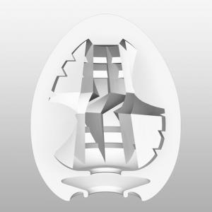 Фото Интимные товары, Мастурбаторы, искусственные вагины Мастурбатор Tenga Egg Thunder (Молния)