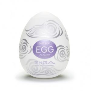 Фото Интимные товары, Мастурбаторы, искусственные вагины Мастурбатор Tenga Egg Cloudy (Облачный)