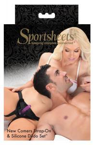 Фото Интимные товары, Страпоны, трусики для страпона Страпон Sportsheets - New Comers Strap-on Kit
