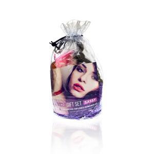 Фото Интимные товары, Секс приколы, Секс-игры, Подарки, Интимные украшения Подарочный набор Dona Be Romanced Gift Set - SASSY
