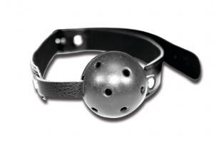 Фото BDSM и электростимуляторы, BDSM игрушки и аксессуары Воздухопроницаемый кляп Sportsheets Breathable Ball Gag