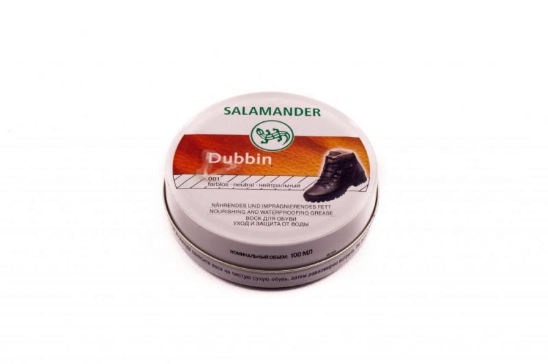 Крем-воск для обуви «Dubbin» (объем 100 мл, бесцветный, Германия) Salamander