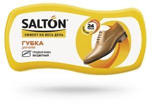SALTON Губка ВОЛНА д/гл.кож. с норк.маслом Бесцветная