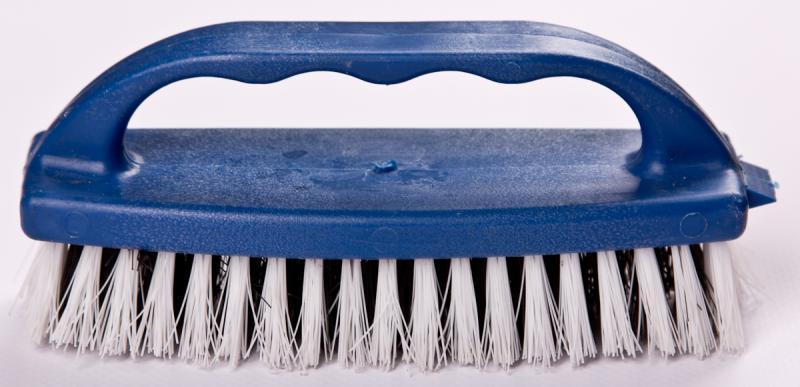 Щетка для обуви (синтетическая щетина, пластик, Украина)