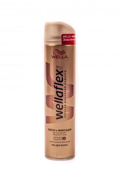 Лак для волос «Wellaflex» (эластичная фиксация, объем 225 мл, в ассортименте, Украина), PROCTER & GAMBLE