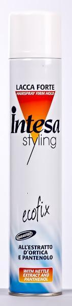 """Лак для волос LACCA FORTE """"Intesa"""", суперсильная фиксация, 500 мл, (Италия)"""