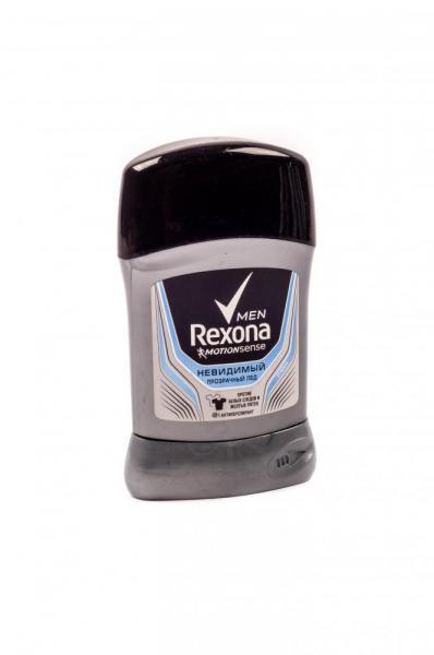 Дезодорант мужской «Rexona» (против белых следов и желтых пятен, твердый, объем 40 мл, запахи в ассортименте, Украина) UNILEVER