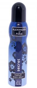 Фото Антиперспиранты Дезодорант для тела ALEXANDER OF PARIS SECRET (150 мл)