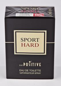 Вода туалетная Art positive «Sport hard» (90 мл, мужская, Россия)