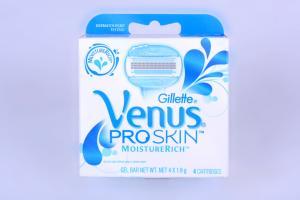Картридж для бритвенного станка Gillette Venus proskin (4 шт), Польша