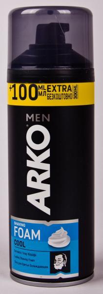 Пена мужская для бритья ARKO «Men Cool» (300 мл) Турция