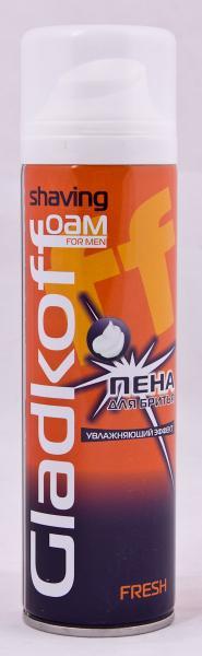 Фото Косметика для бритья, Для бритья, Пена для бритья Пена для бритья «Gladkoff» (объем 200 мл, эффект в ассортименте, Украина) FOAM