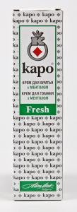 Крем для бритья «Kapo» (100 мл, с ментолом, Болгария)