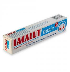 Зубная паста (отбеливание зубов, очищение, объем 75 мл, Германия), LACALUT