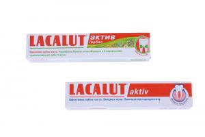 Зубная паста Lacalut (75 мл; в ассортименте) Германия