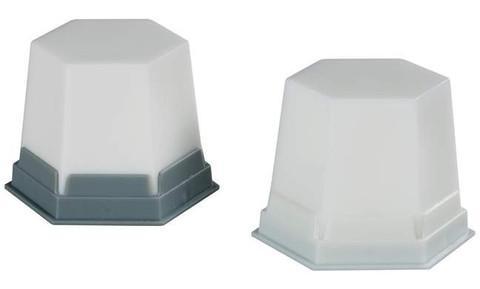 GEO wax – Snow white, Transparent  (GEO Воск , белый, прозрачный, моделировочный)