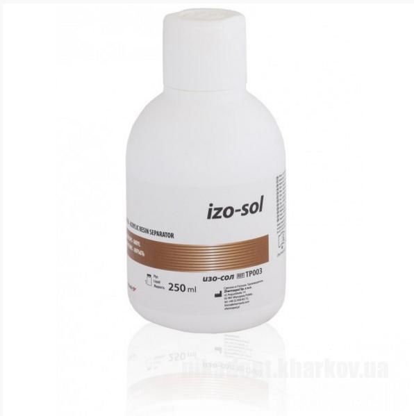 Фото Для зуботехнических лабораторий, МАТЕРИАЛЫ, Изоляционные Средства и Лаки IZO-SOL (изо-сол) 250мл